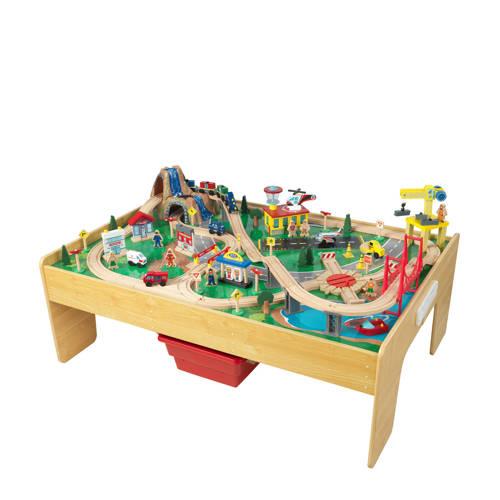 KidKraft houten treinset met activiteitentafel kopen