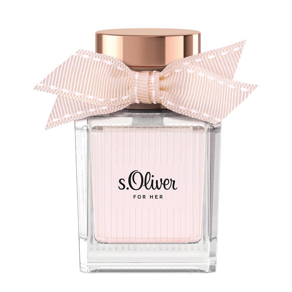 s.Oliver For Her eau de toilette - 30 ml