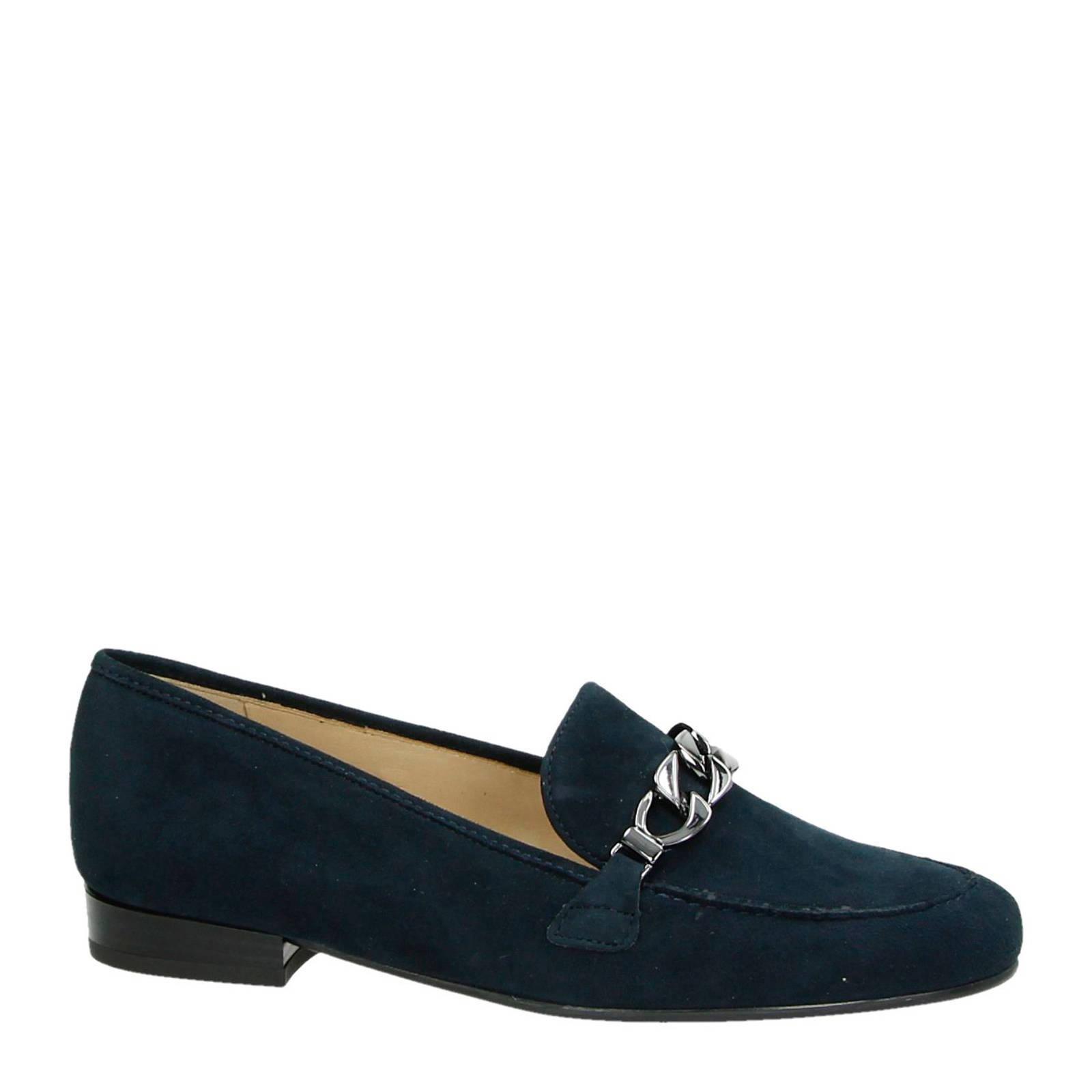Ara suède loafers marine (dames)