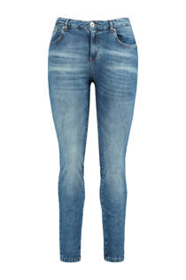 MS Mode slim fit jeans blauw (dames)