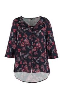 MS Mode blouse met bloemenprint (dames)