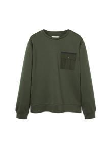 sweater met zak