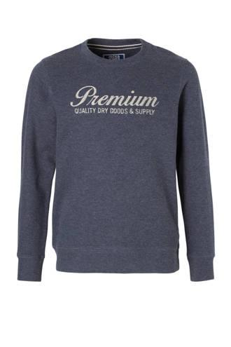 Junior sweater Zeus grijsblauw