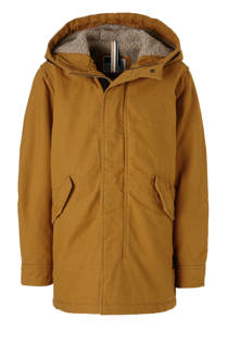 Jack & Jones Junior parka Bento bruin (jongens)