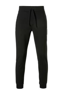 Boss sweatpants met textuur zwart  (heren)