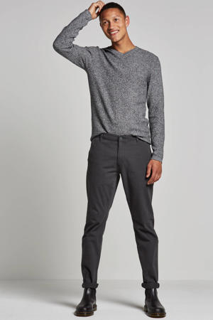 tapered fit chino Alpha Khaki steelhead