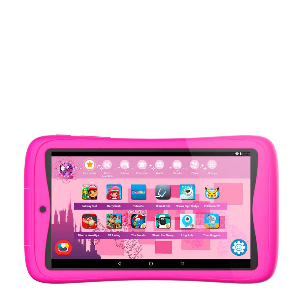Kurio  Tab Connect kindertablet roze 16GB, Roze