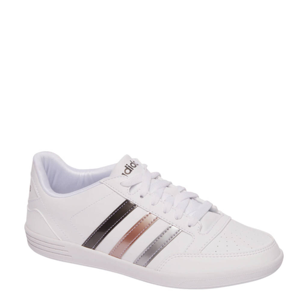 a695bfddf6d adidas sneakers VL Hoops Low wit | wehkamp