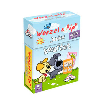 Woezel & Pip kwartet junior kinderspel