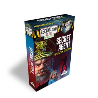 Secret Agent Escape Room The Game uitbreidingsspel