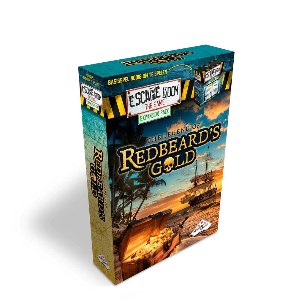 Identity Games Escape Room The Game The Legend of Redbeard's Gold uitbreidingsspel