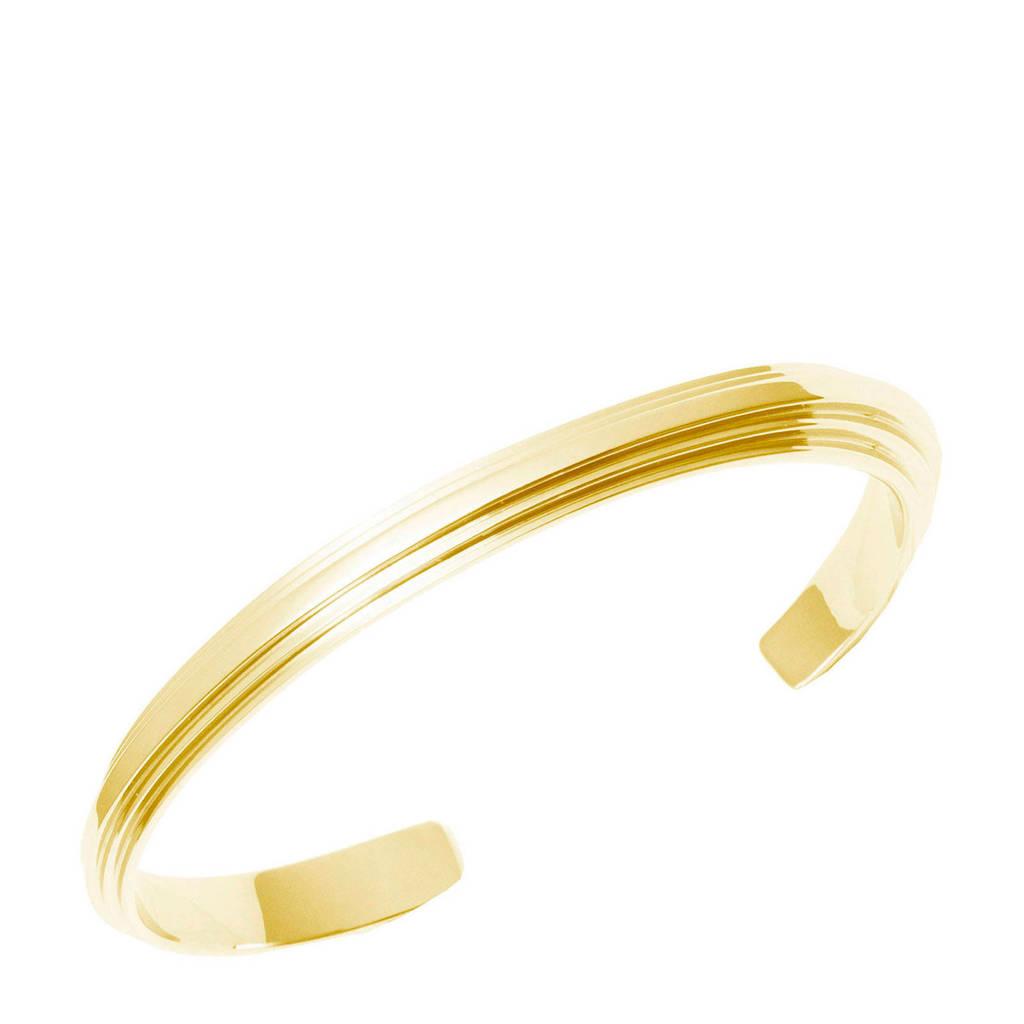 Bandhu Stack armband gold plated, Goud