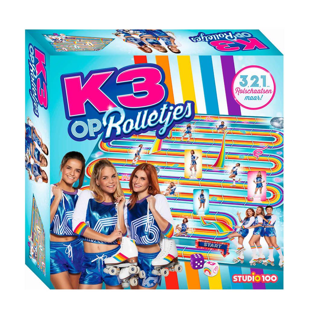 K3 Op Rolletjes bordspel