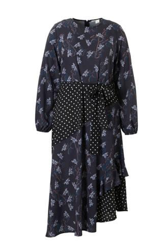 Plus jurk met all-over print