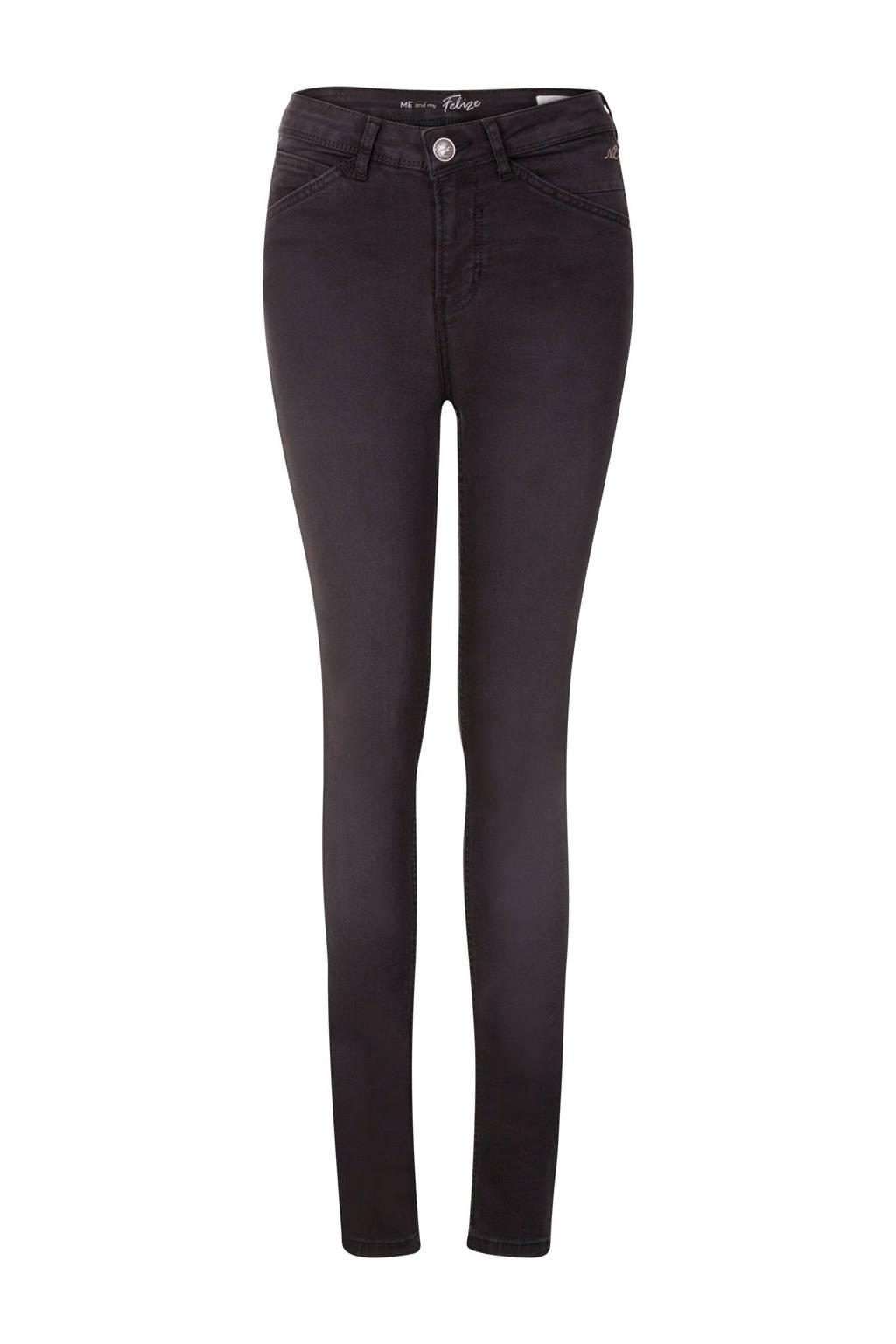 Miss Etam Regulier skinny jeans Felize Flex zwart 32 inch, Zwart