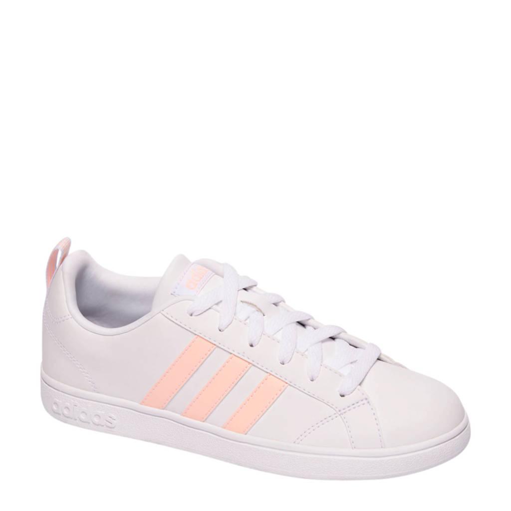 big sale 41737 7de2a adidas VS Advantage sneaker witlichtroze