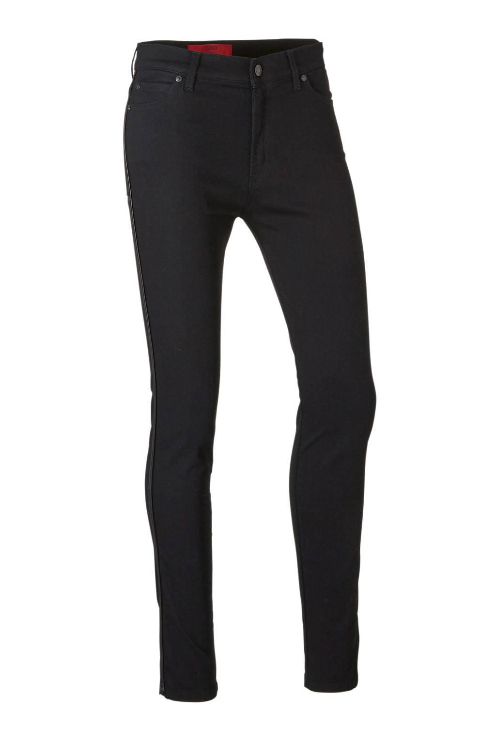 HUGO skinny jeans zwart, Zwart