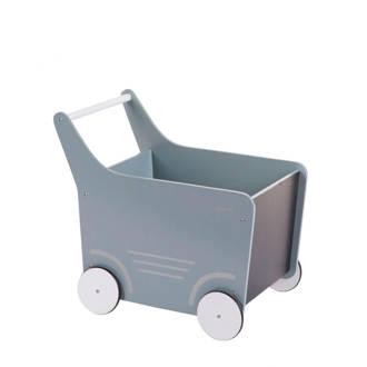 houten loopwagen mint
