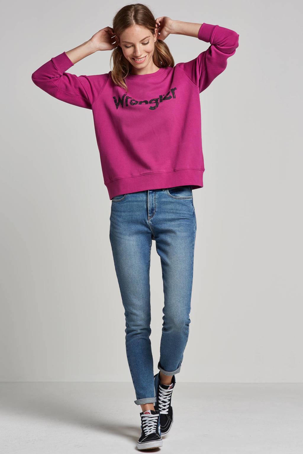 Wrangler Paisley sweater, Paars