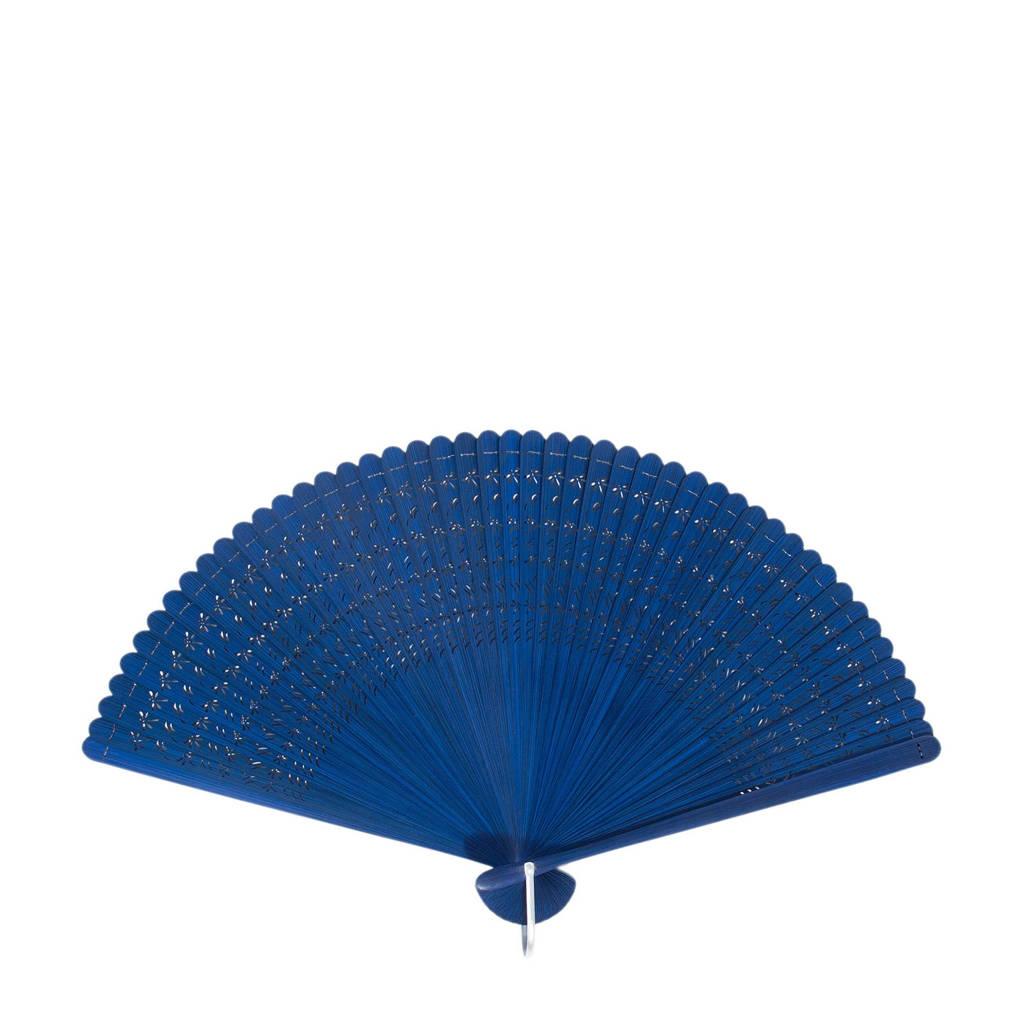 Parfois bamboe waaier blauw, Blauw