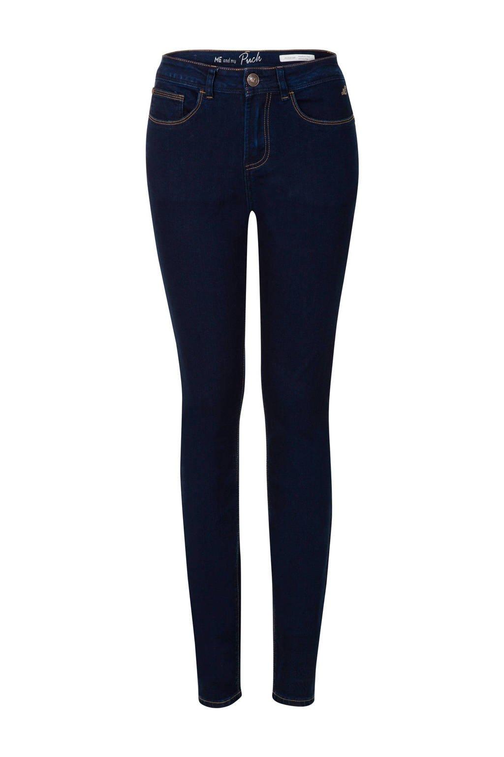 Miss Etam Lang skinny jeans Puck 36 inch, Donkerblauw