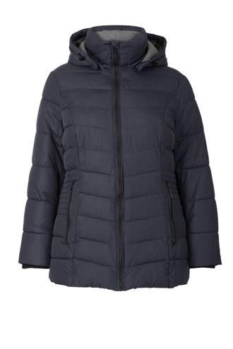 Plus jas donkerblauw