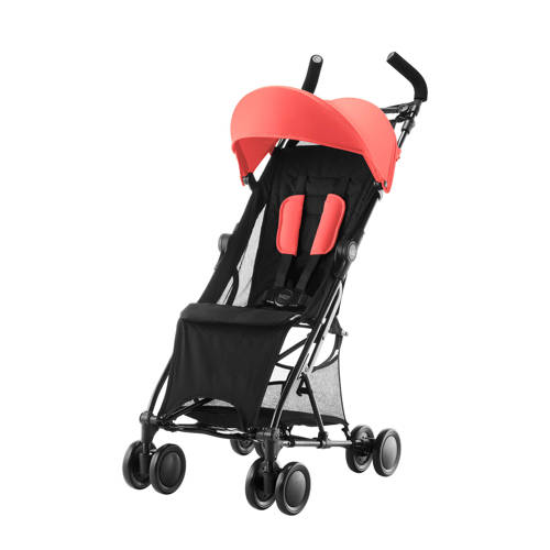 Holiday buggy coral peach