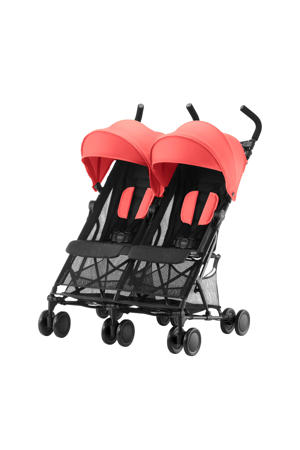 Holiday Double buggy coral peach
