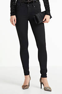 Diesel Slandy skinny fit jeans zwart, Zwart