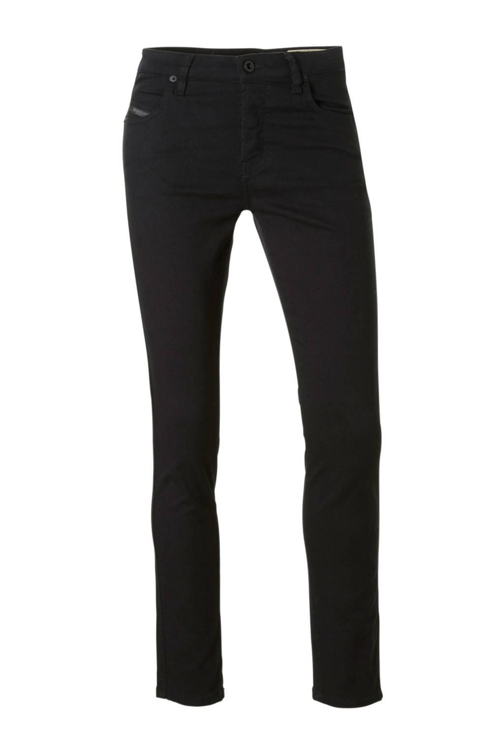 Diesel Babhila slim-skinny fit jeans, Zwart