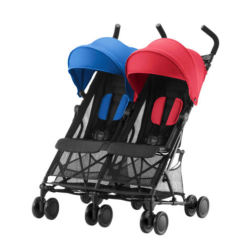 Holiday Double buggy red-blue