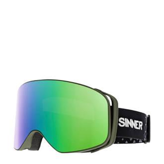 Unisex skibril Olympia groen