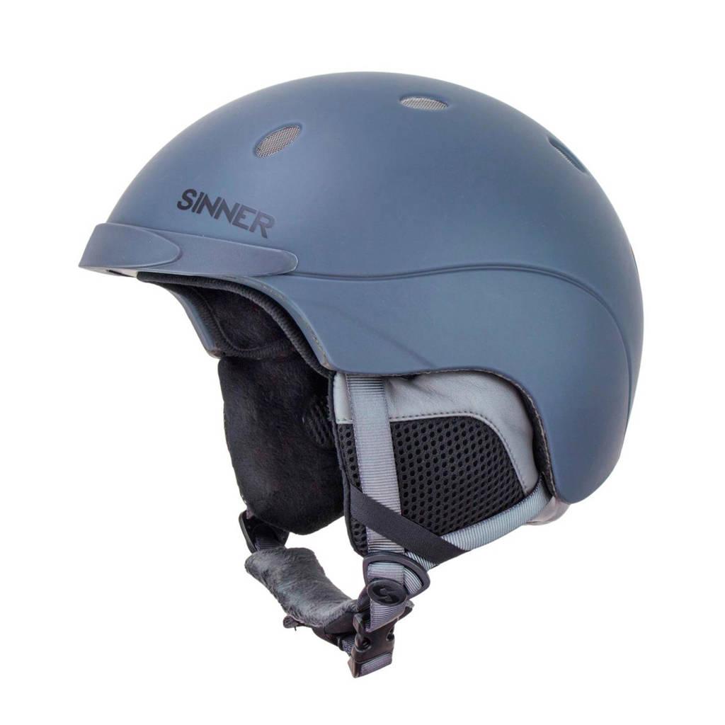 Sinner skihelm Titan Unisex grijs/blauw, Grijs/blauw