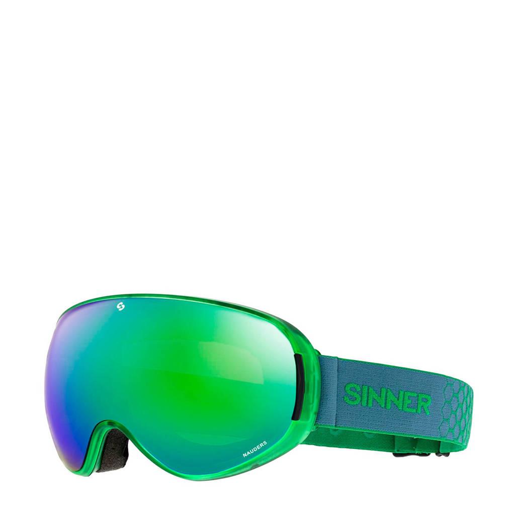 Sinner Unisex skibril Nauders groen, Groen
