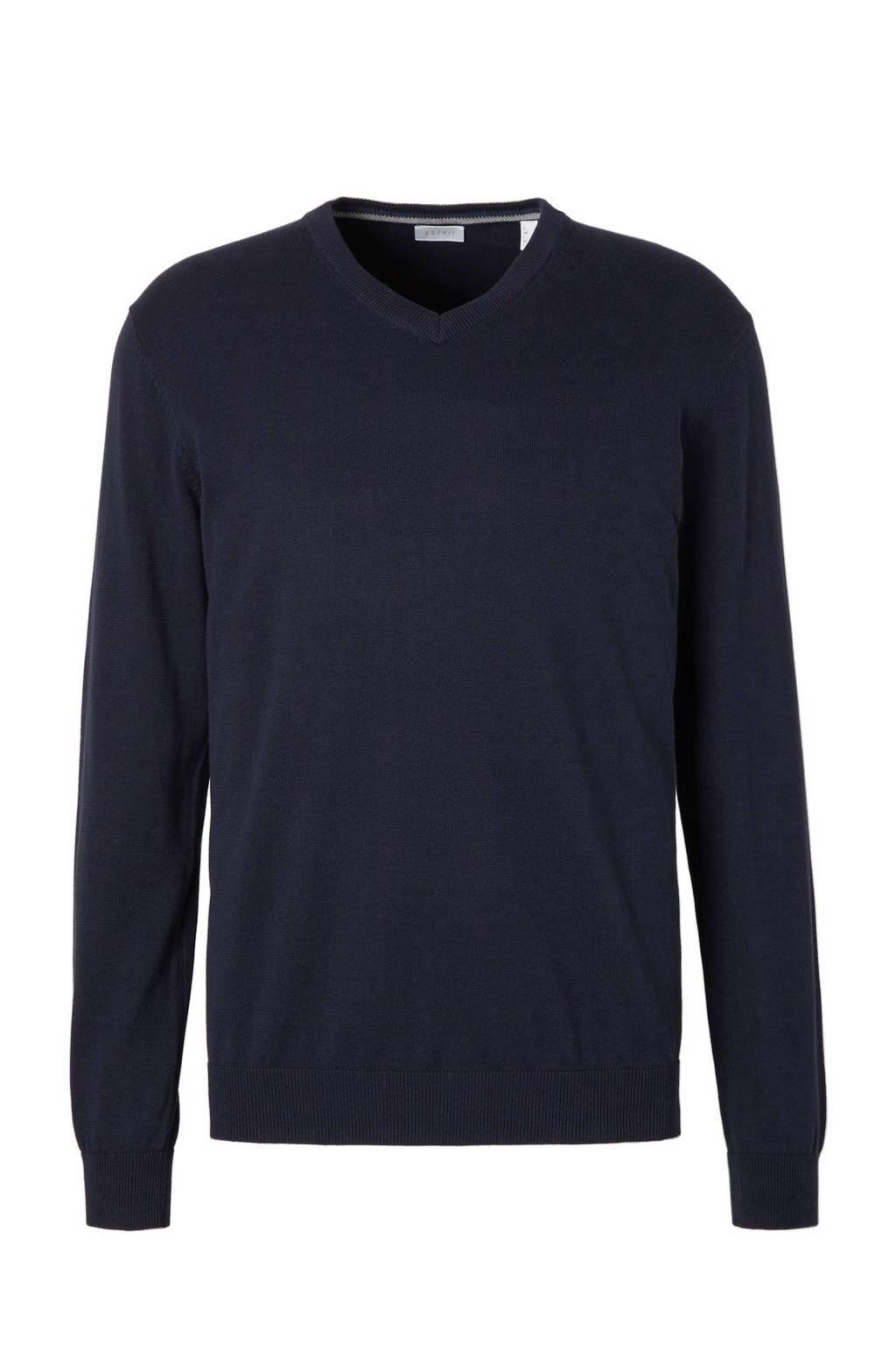 ESPRIT Men Casual trui, Donkerblauw