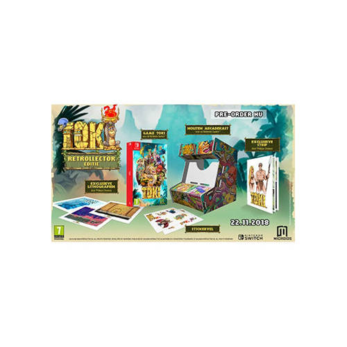 Toki (Retrollector edition) (Nintendo Switch) kopen
