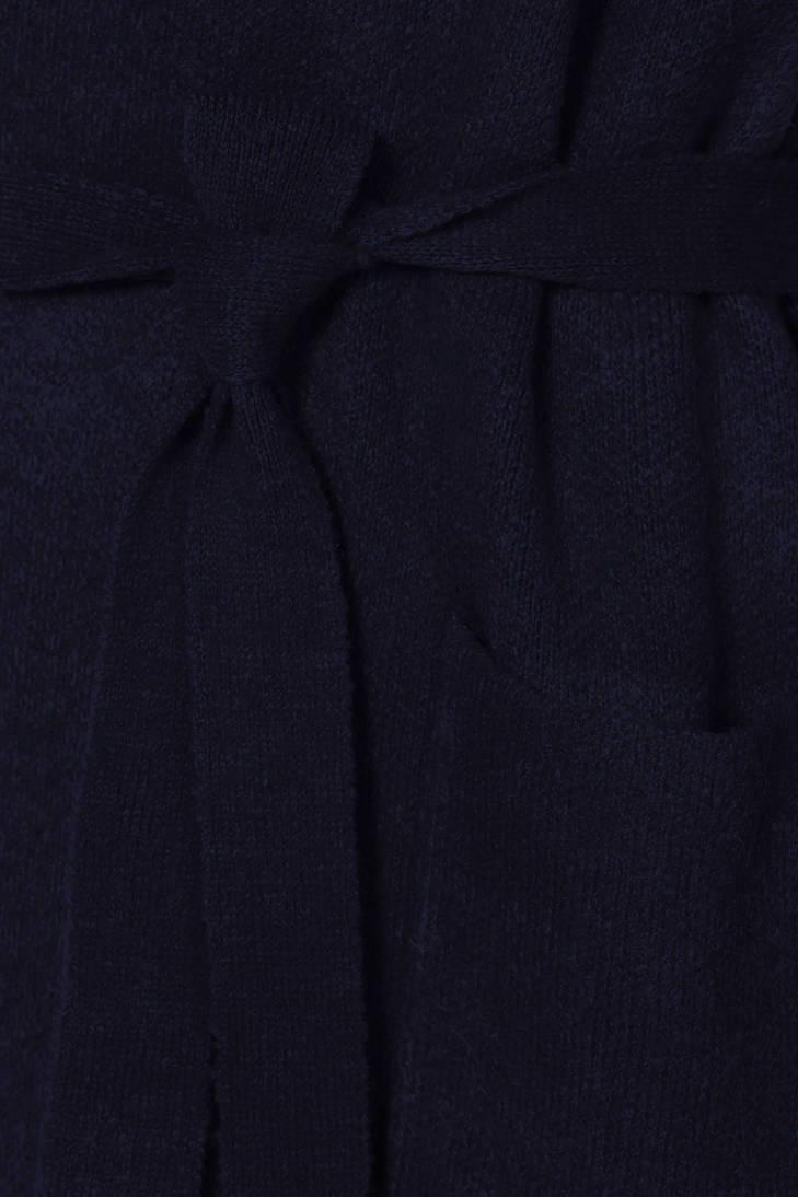 Promiss donkerblauw met wol vest Visser Mart gqrxPgv