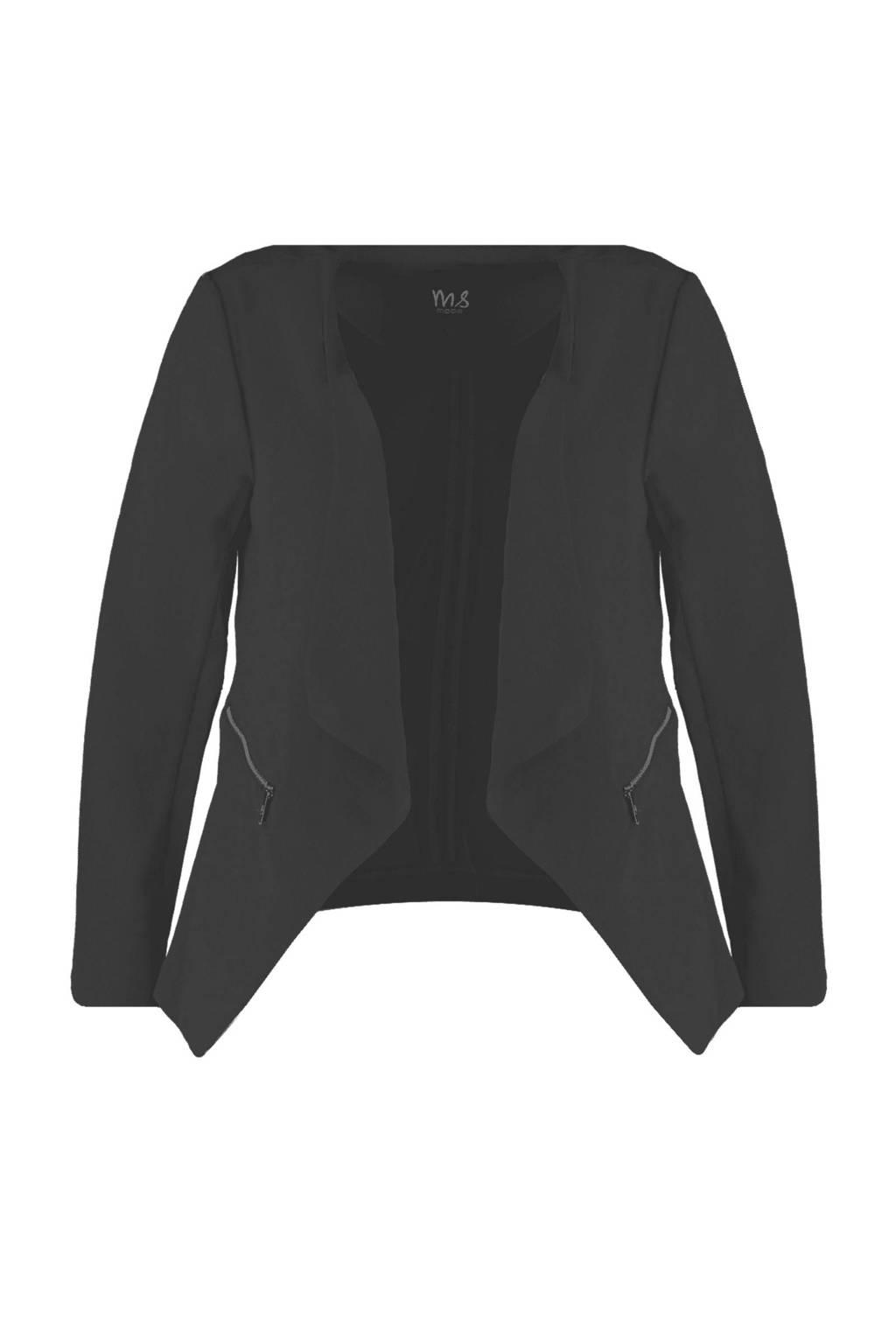 MS Mode blazer zwart, Zwart