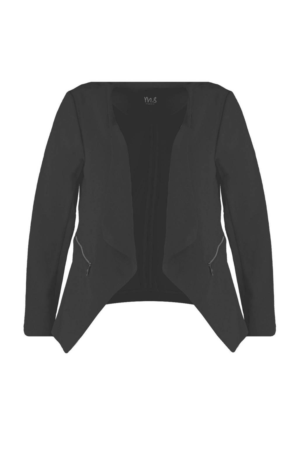 MS Mode blazer zwart, Zwart