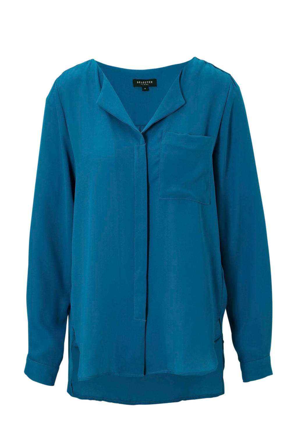 SELECTED FEMME blouse, Blauw