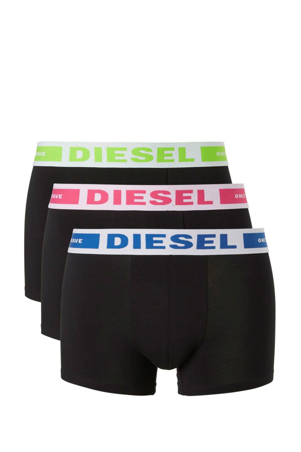 Diesel boxershort (set van 3), Zwart