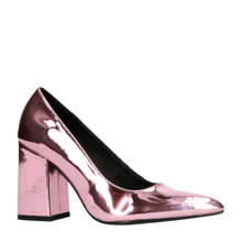 pumps metallic roze