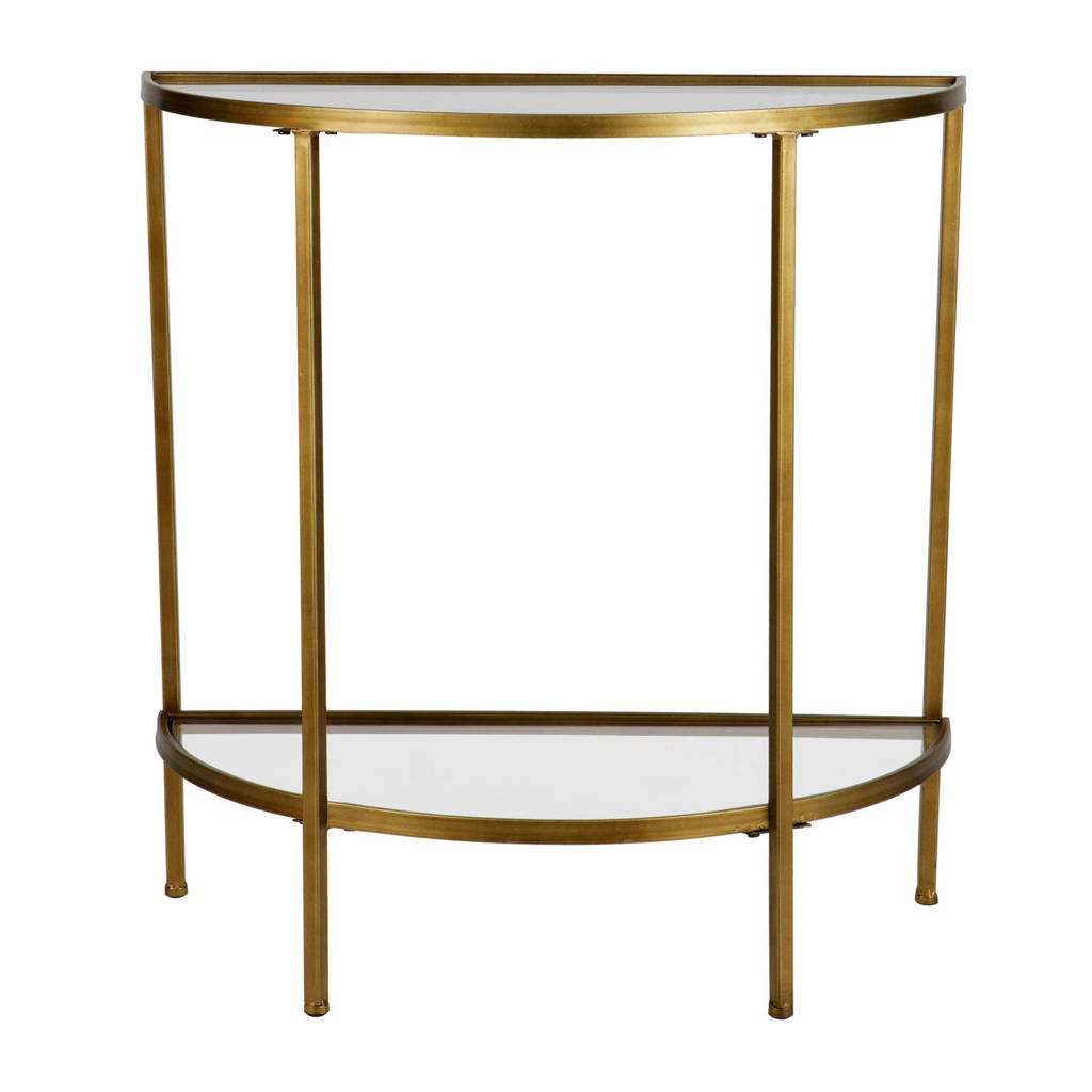 BePureHome sidetable Goddess, Antique Brass