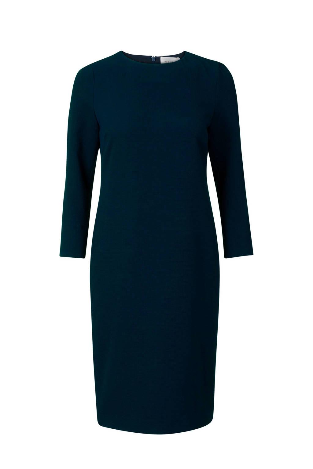 Promiss jurk donkerblauw, Donkerblauw