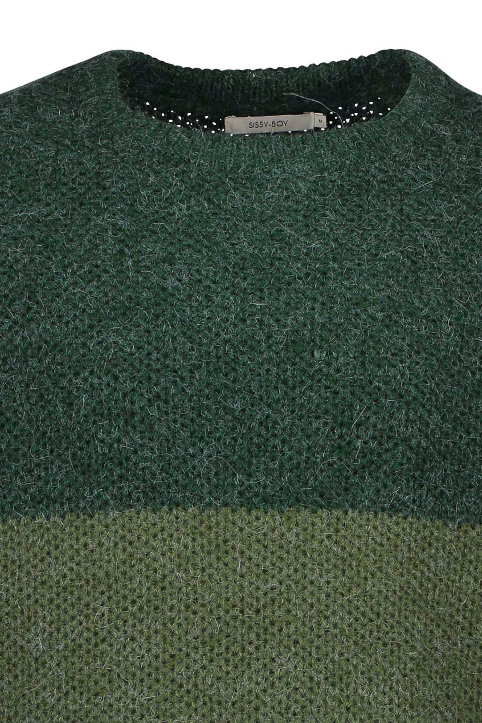 Sissy Boy trui met wol donkergroen | wehkamp