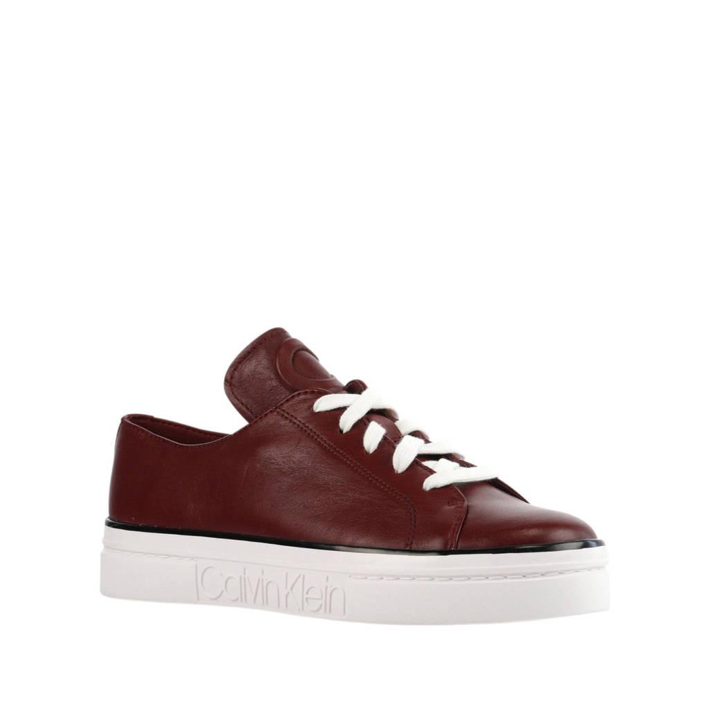 Calvin Klein  sneakers rood, Rood