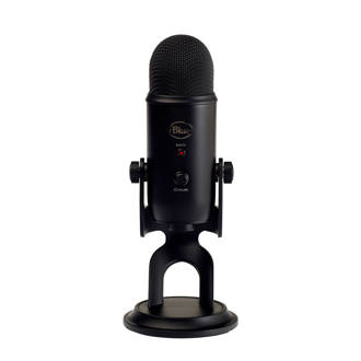 Yeti USB microphone zwart