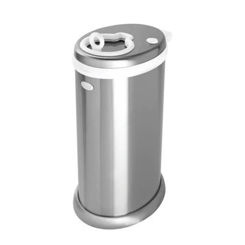 Ubbi luieremmer metallic zilver kopen