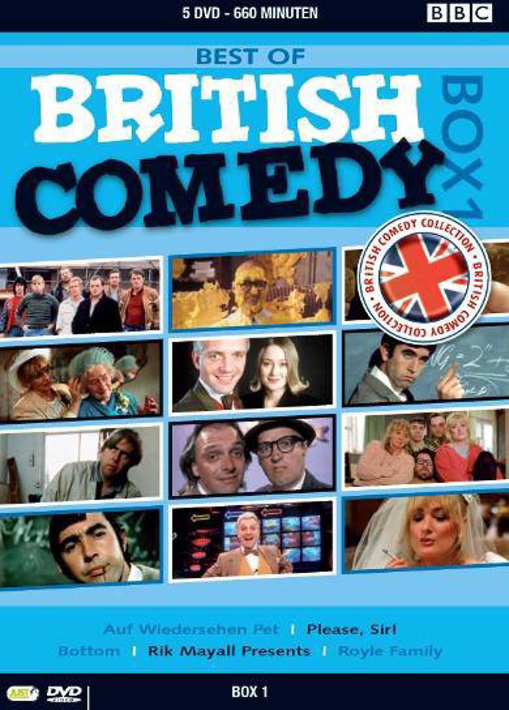 Best of British comedy box 1 (DVD)