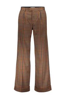 Sissy-Boy geruite pantalon bruin